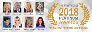 Janey Lee Grace launches Platinum natural Beauty Awards