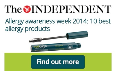 The Independent celebrates NATorigin mascara as one of the 10 best allergy products